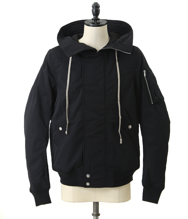 HOODED BOMBER SHORT