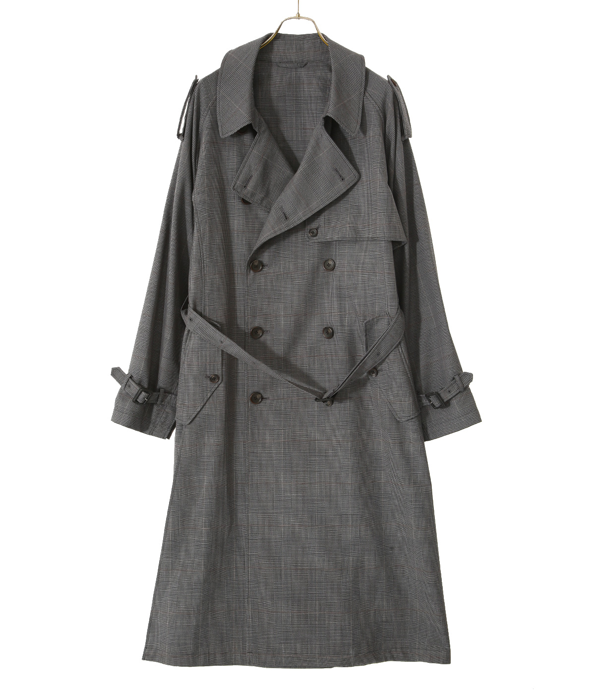 DOUBLE SHADE TRENCH COAT