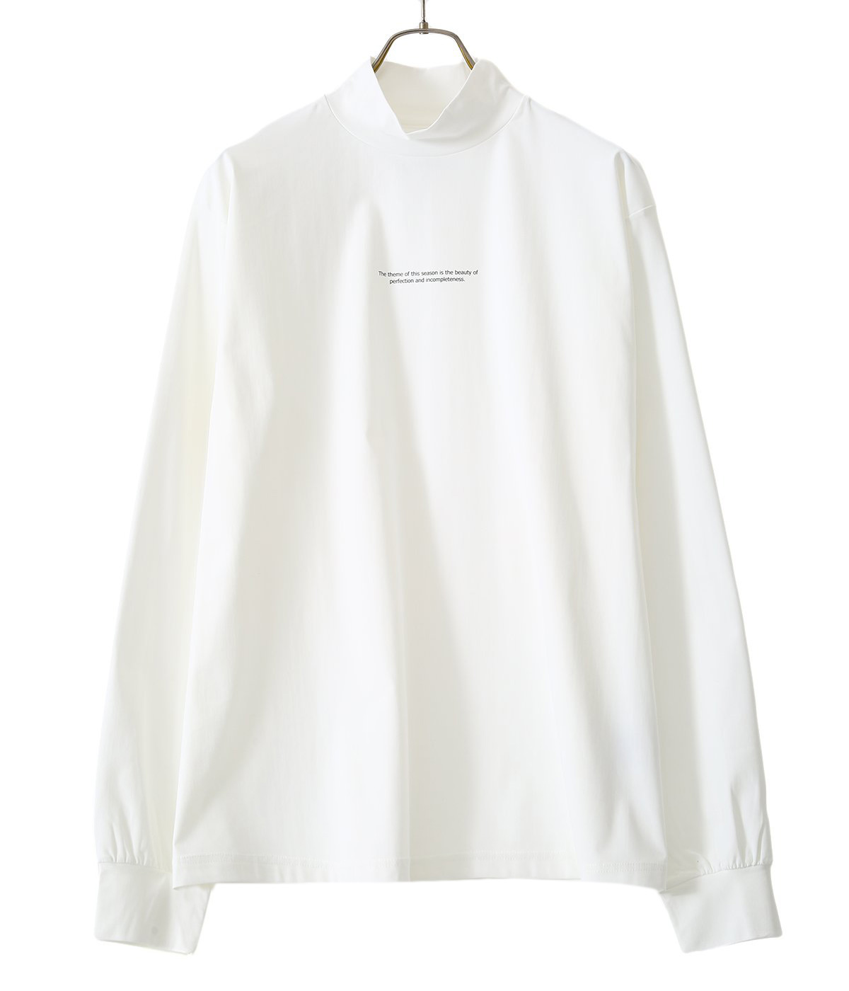 OVERSIZED HIGH NECK LS