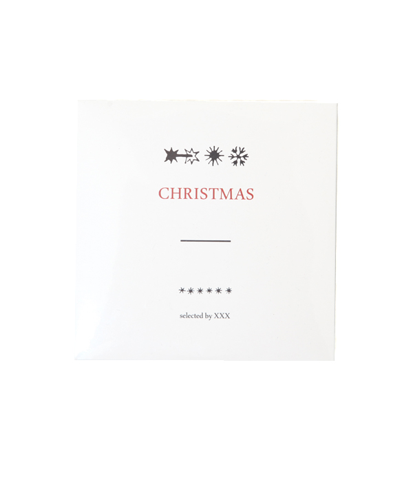 CHRISTMAS - SELECTED BY XXX (LIMITED EDITION) (2CD)