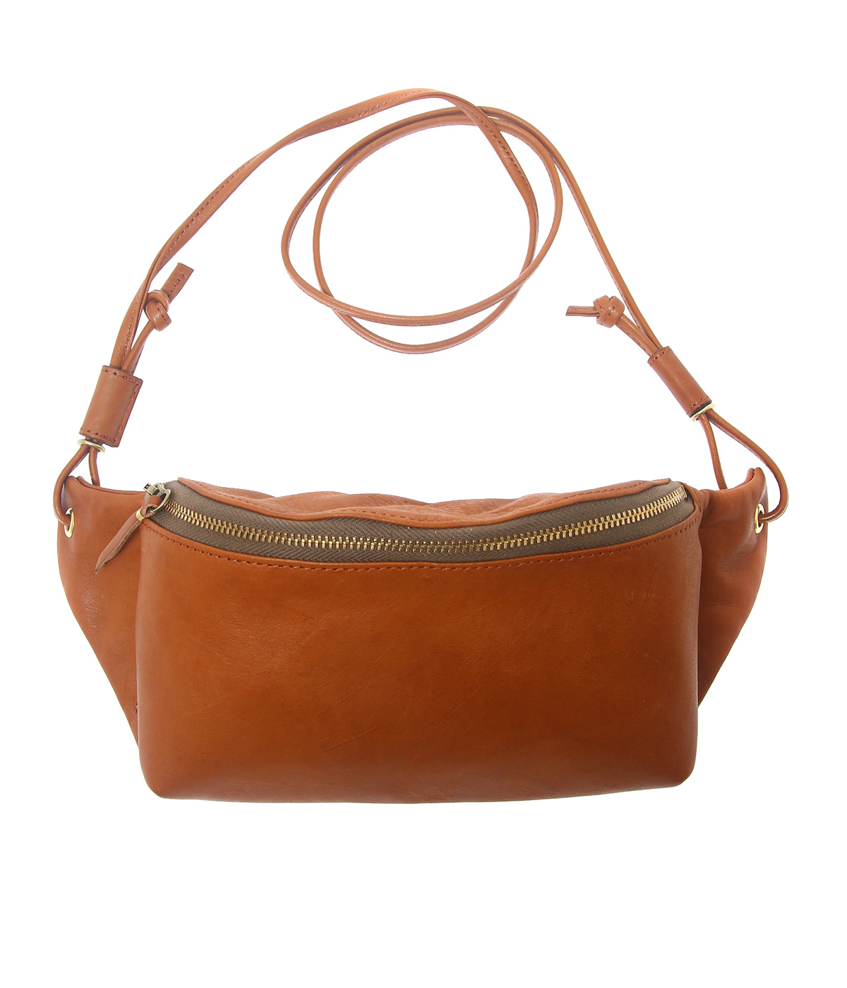 horse pit fanny pack S -Camel-