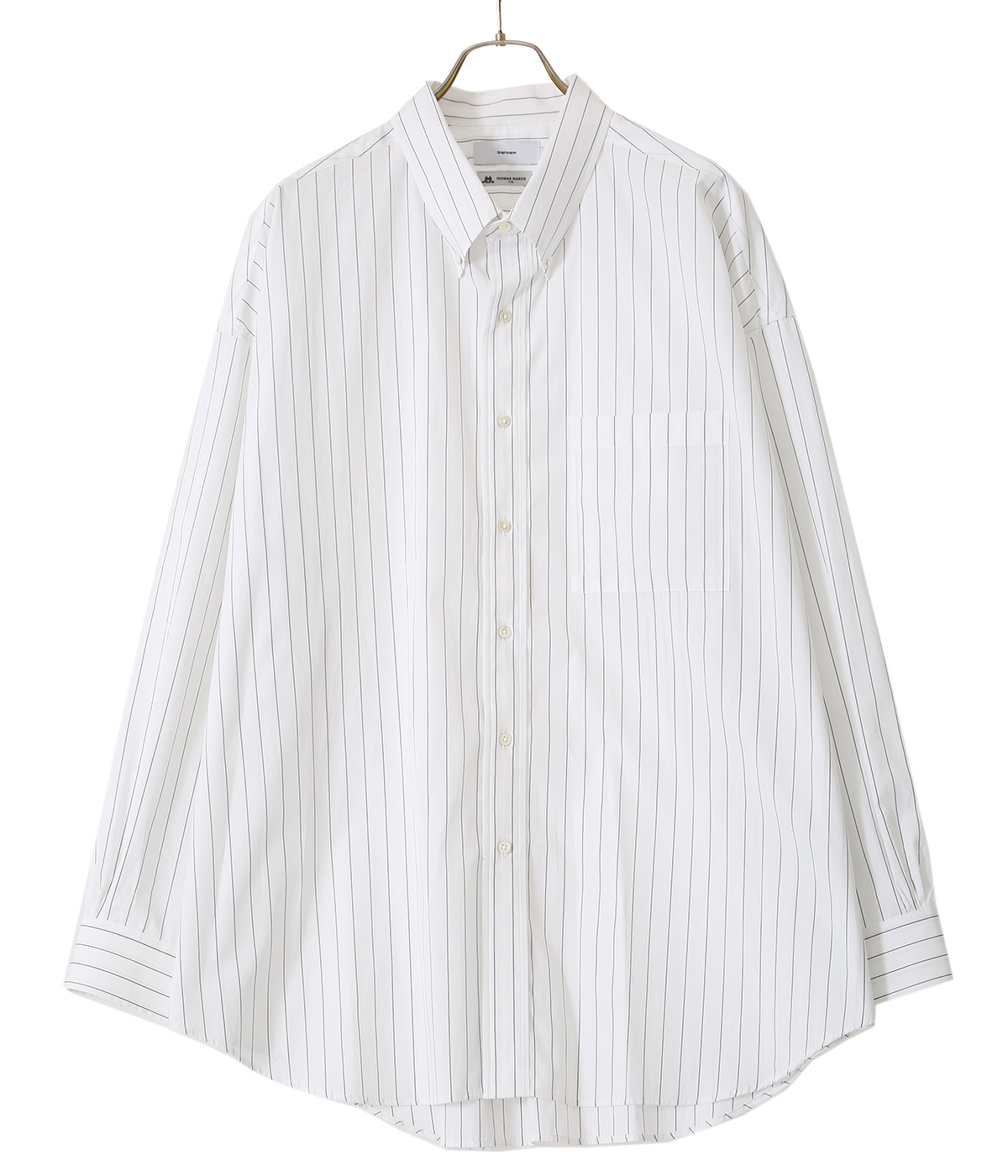 Thomas Mason Oversized B.D Shirt