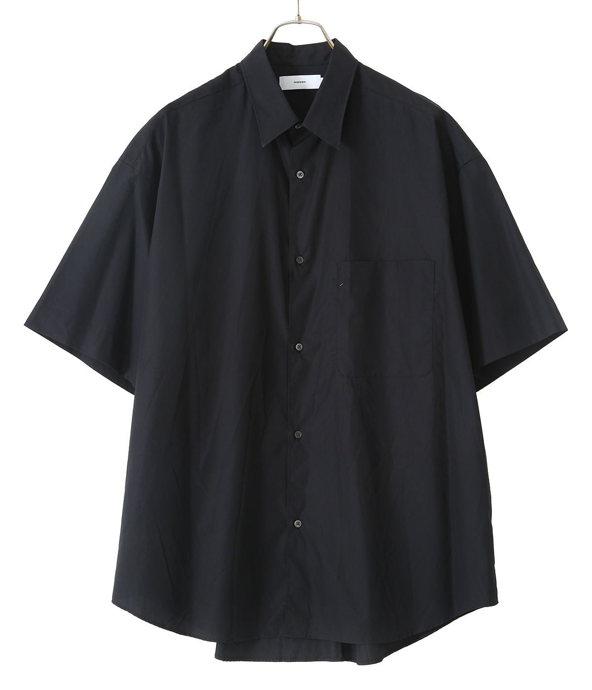 Stretch Typewriter S/S Box Shirt