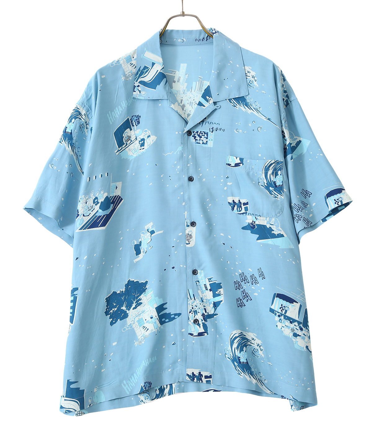 SHOWFOLK ALOHA SHIRT