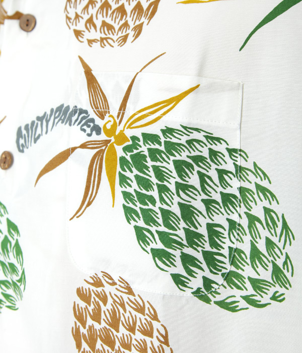 """PINEAPPLE"" S/S HAWAIIAN SHIRT"