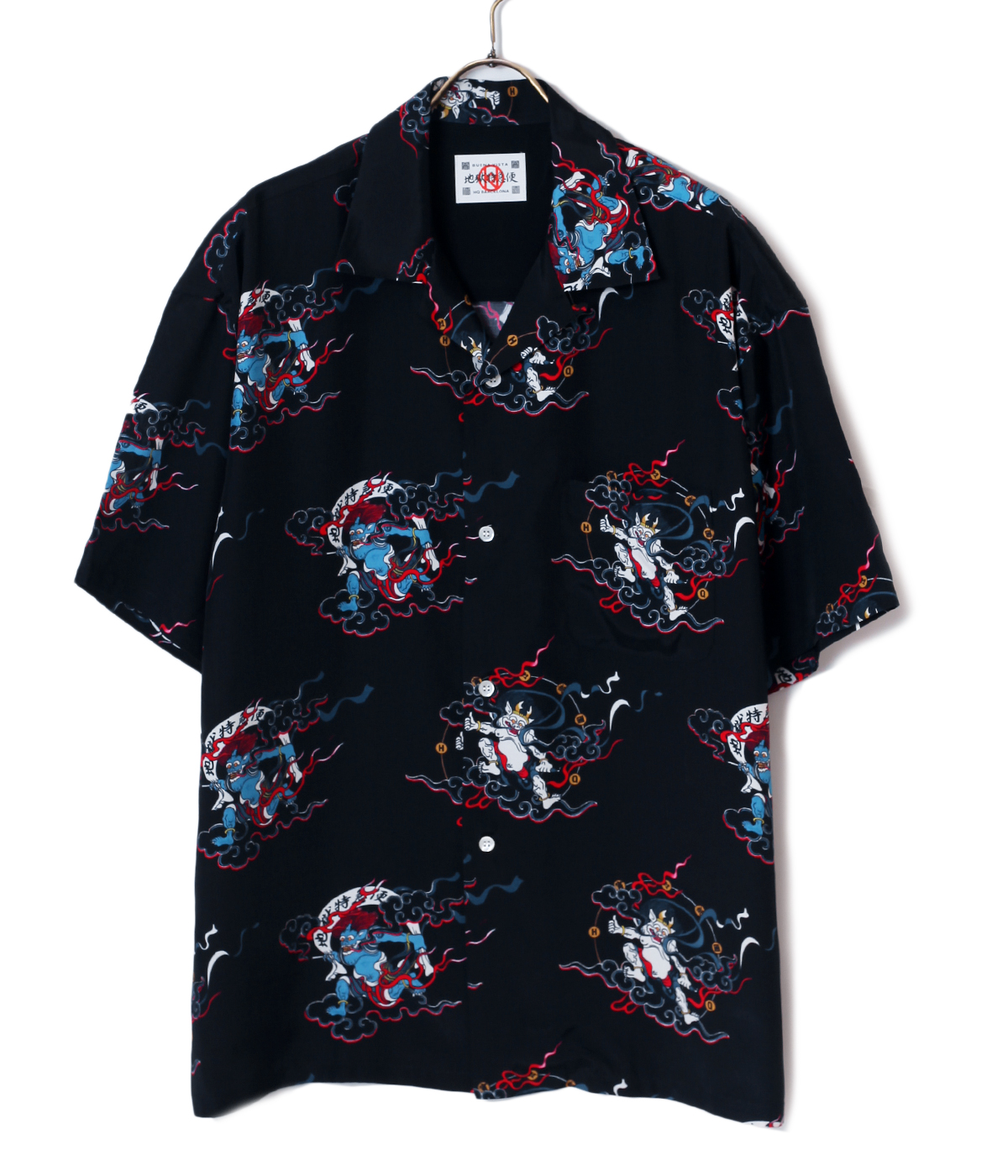"""風神雷神"" HAWAIIAN SHIRTS"