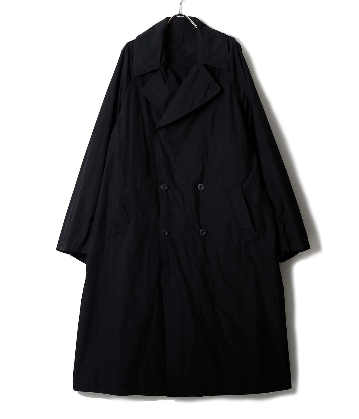 Garment Dyed Poplin Coat