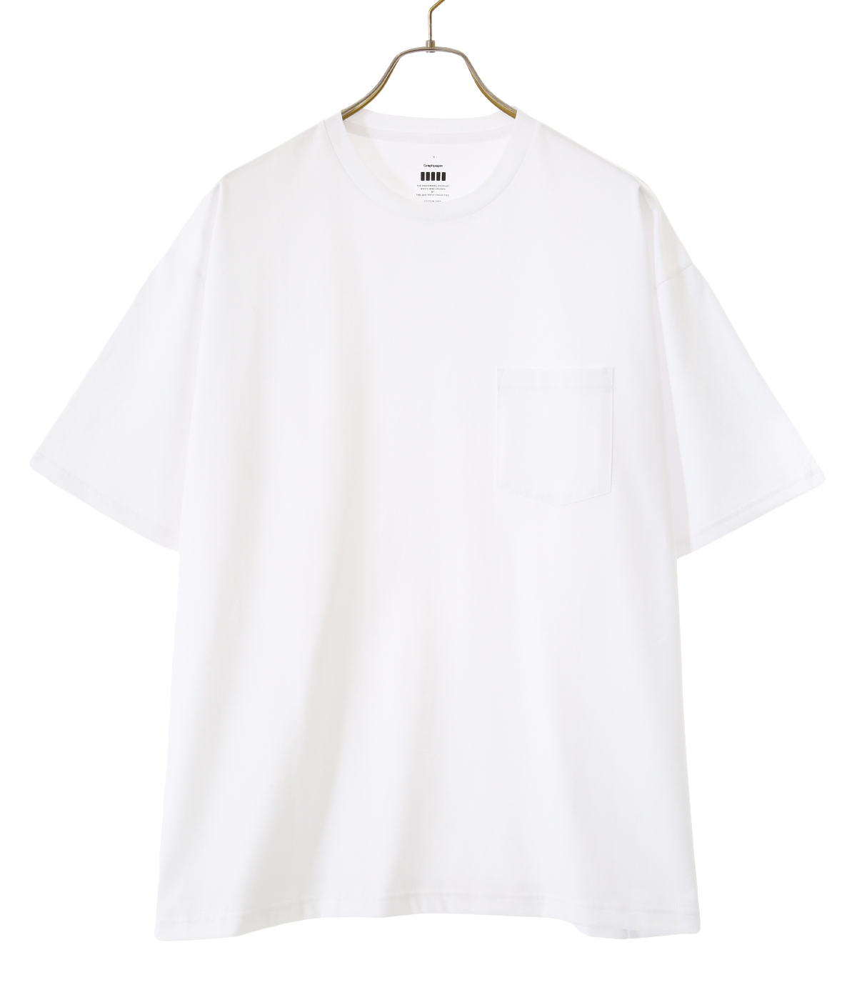 Jersey Oversized S/S Pocket Tee