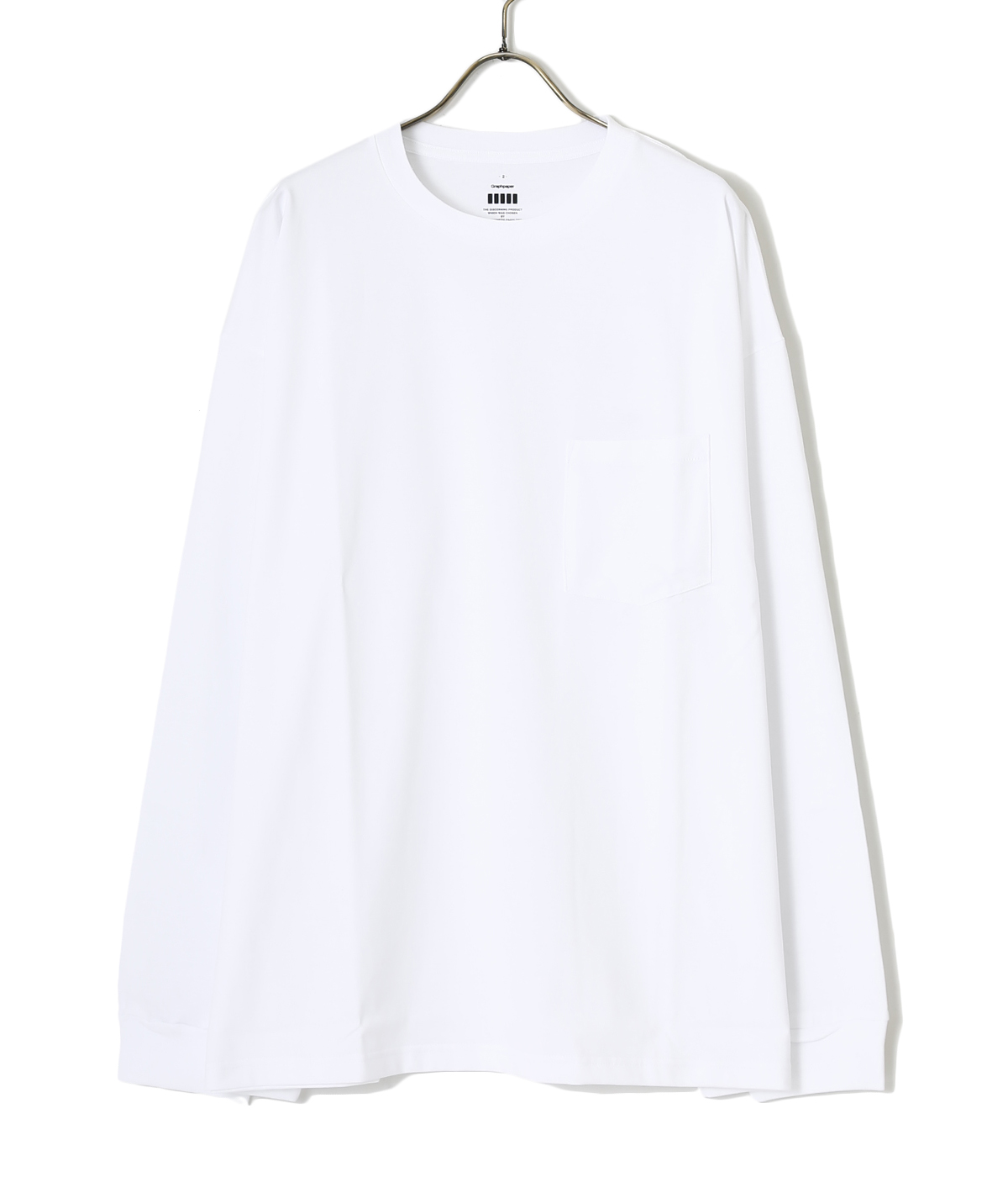 Jersey Oversized L/S Pocket Tee