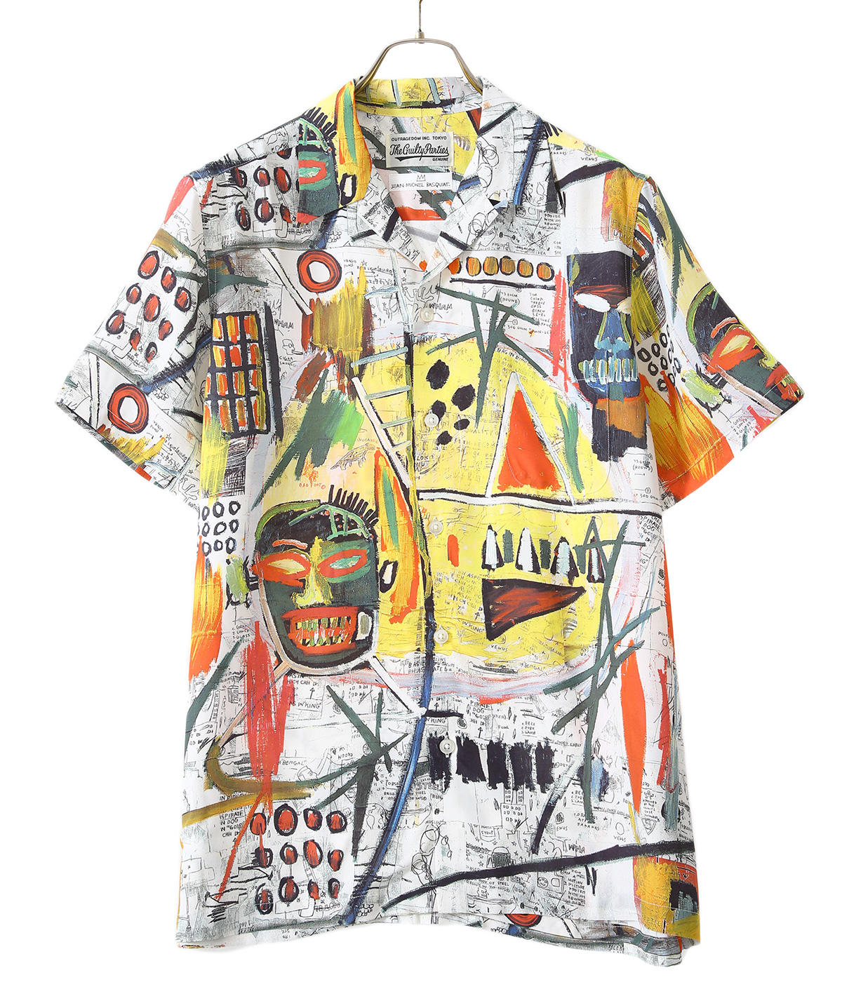 JEAN-MICHEL BASQUIAT / S/S HAWAIIAN SHIRT ( TYPE-2 )