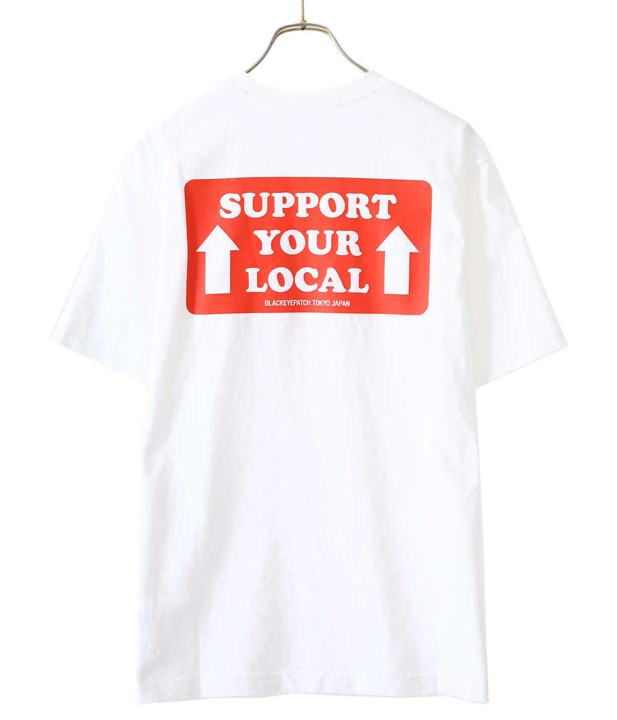 SUPPORT YOUR LOCAL HANDLE WITH CARE LABEL TEE