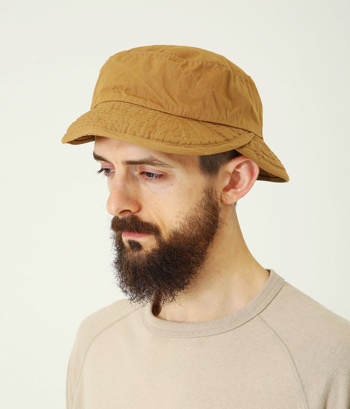 COTTON WEATHER DOUBLE BILL HAT