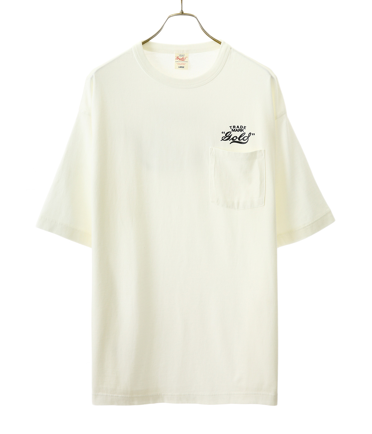 LIGHT SUVIN WIDE T-SHIRT -GOLD-