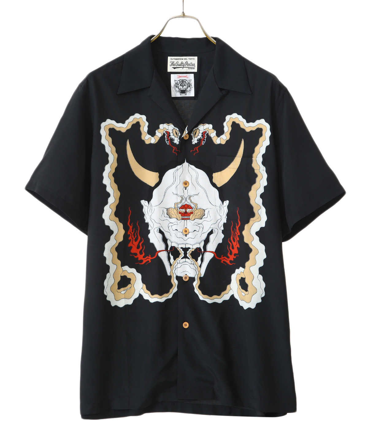 WOLF'S HEAD / S/S HAWAIIAN SHIRT ( TYPE-1 )