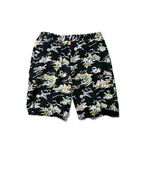 PATTERN EASY SHORTS(AIR PLANE)