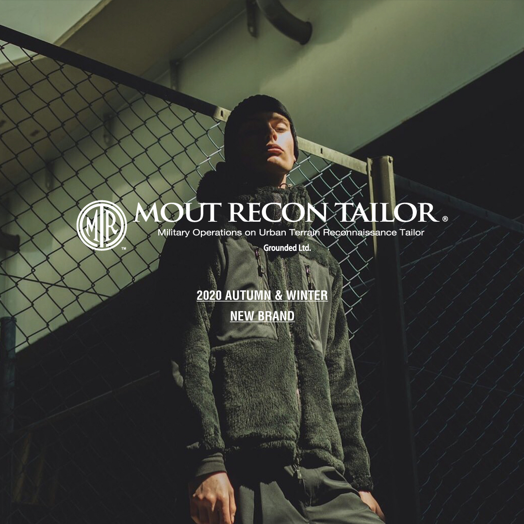 MOUT RECON TAILOR -2020AW NEW BRAND-
