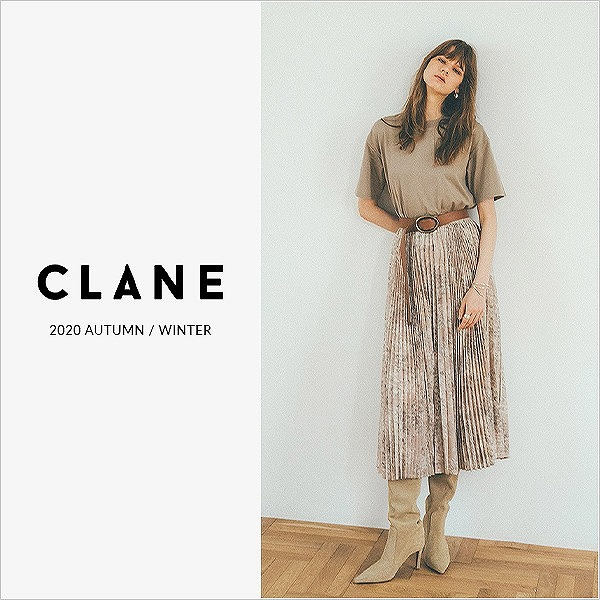 CLANE 20AW COLLECTION