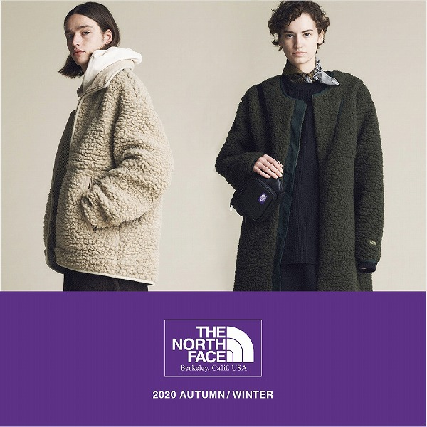 THE NORTH FACE PURPLE LABEL 20AW COLLECTION