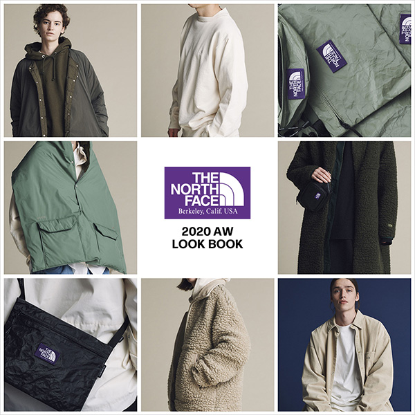 THE NORTH FACE PURPLE LABEL 20AW LOOK BOOK