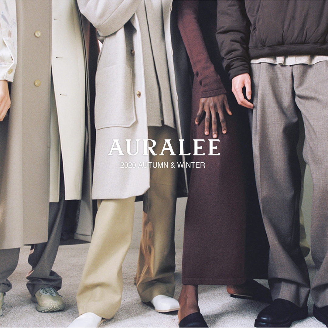 AURALEE 20AW LOOK BOOK