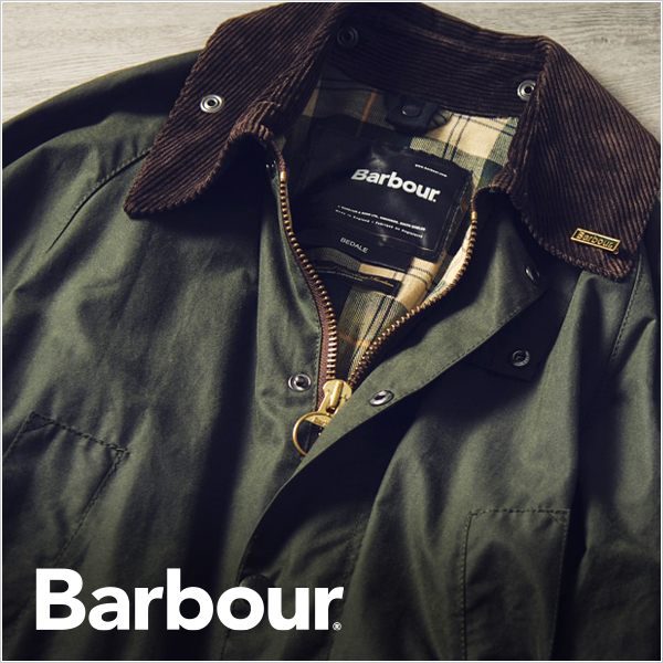 Barbour 20AW COLLECTION