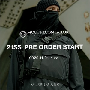 MOUT RECON TAILOR 21SS PRE ORDER 11月1日(日)開始!