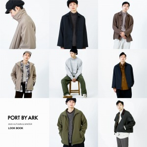 PORT BY ARK 20AW COLLECTION LOOK BOOK