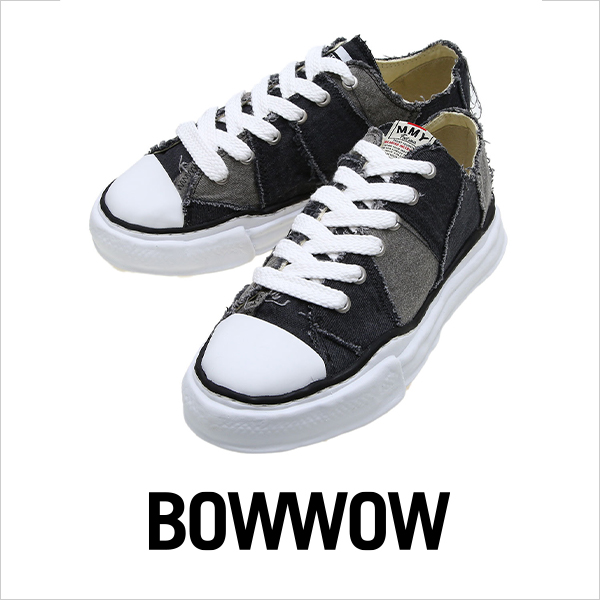 BOW WOW PATCHWORK SNEAKERS
