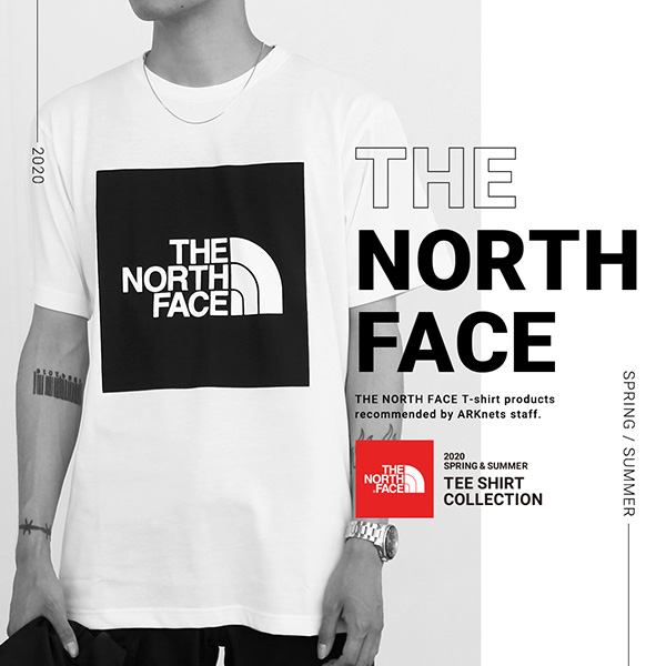 THE NORTH FACE TEE SHIRT COLLECTION