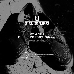GEORGE COX 【ONLY ARK】別注 D ring POPBOY Gibson NEW ARRIVAL