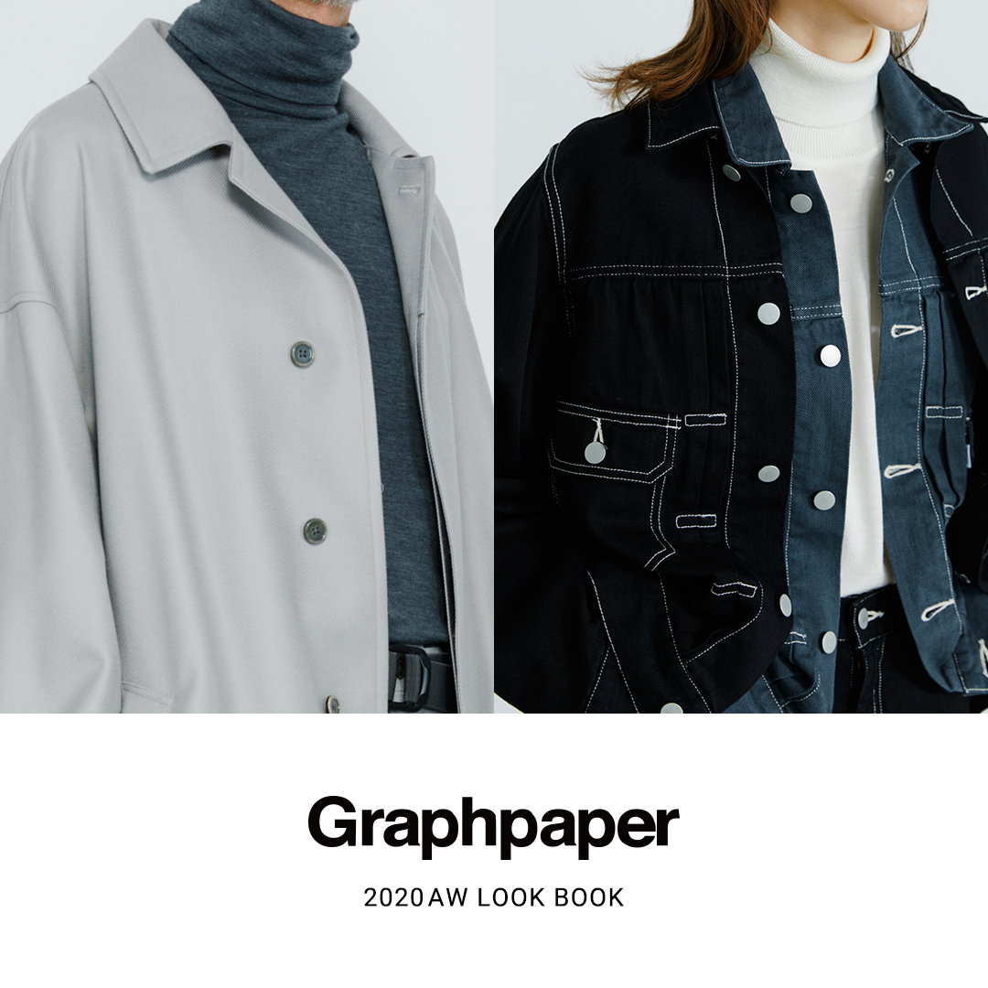 Graphpaper 20AW LOOK BOOK